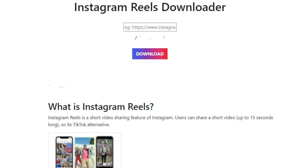 Cara Download Reels Instagram Tanpa Aplikasi