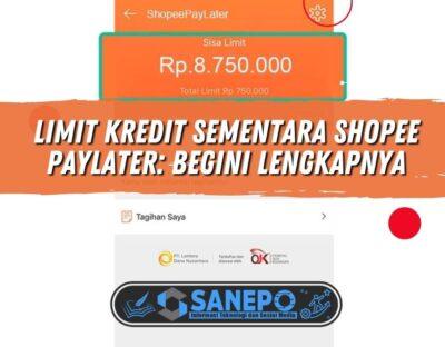 Limit Kredit Sementara Shopee PayLater: Begini Lengkapnya