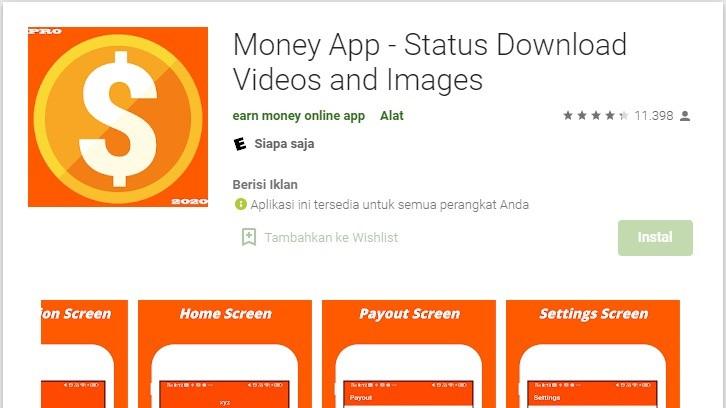 Aplikasi Luar Negeri Penghasil Uang