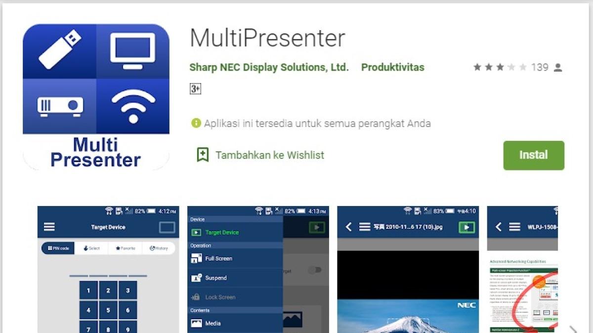 daftar 5 aplikasi proyektor hp