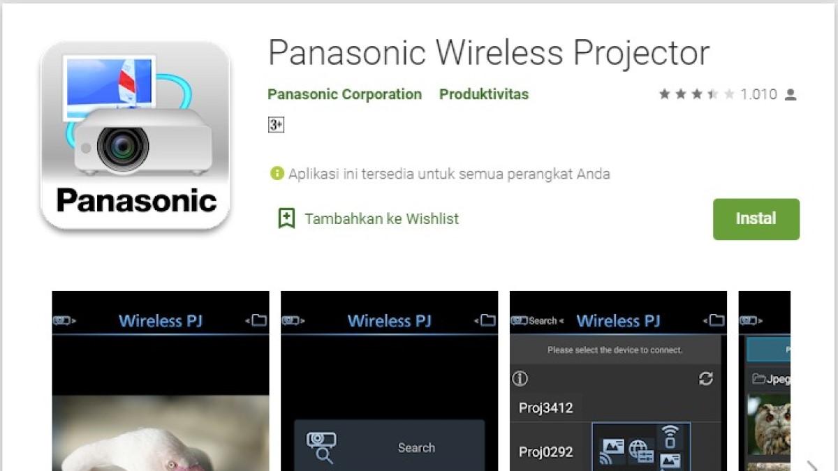 5 aplikasi proyektor HP