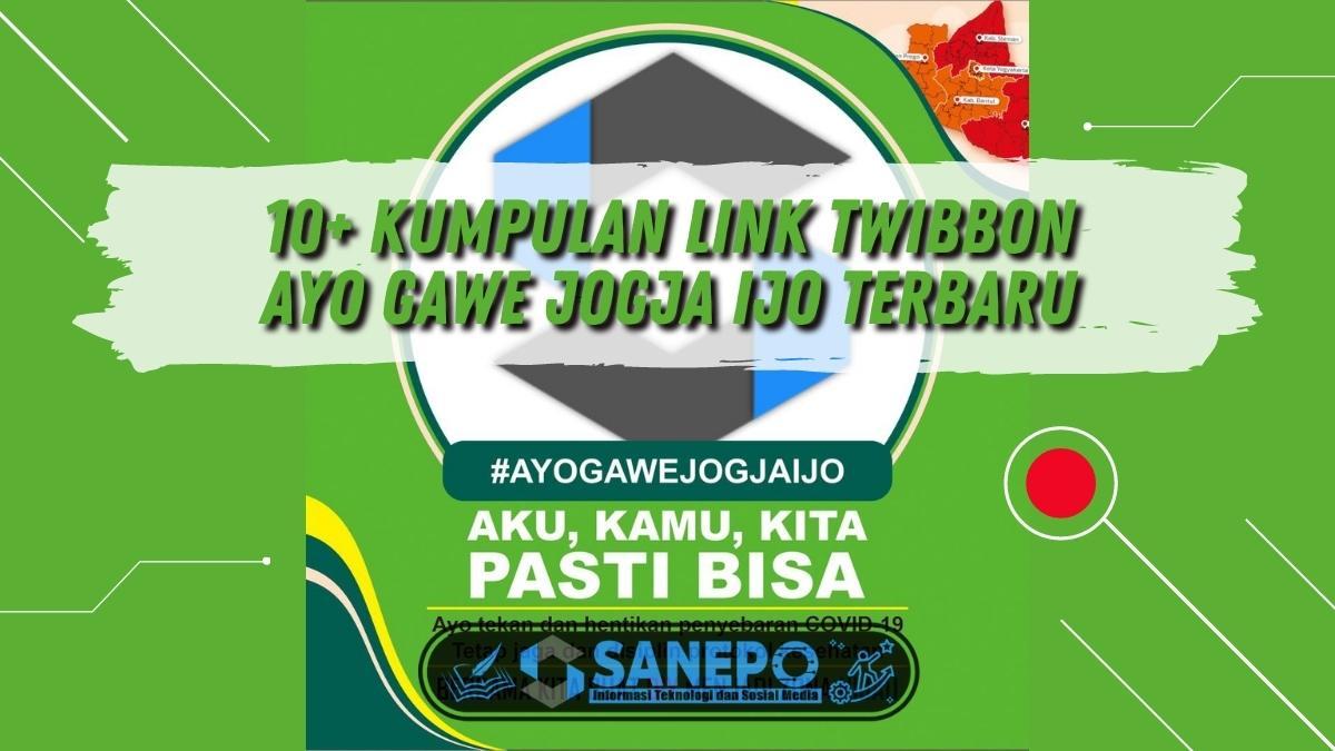 10+ Kumpulan Link Twibbon Ayo Gawe Jogja Ijo Terbaru