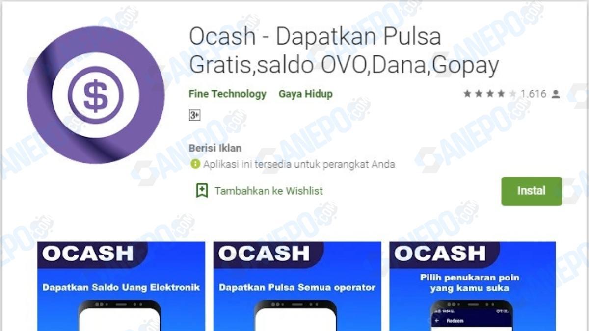 Cara Daftar dan Download Aplikasi Ocash Apk