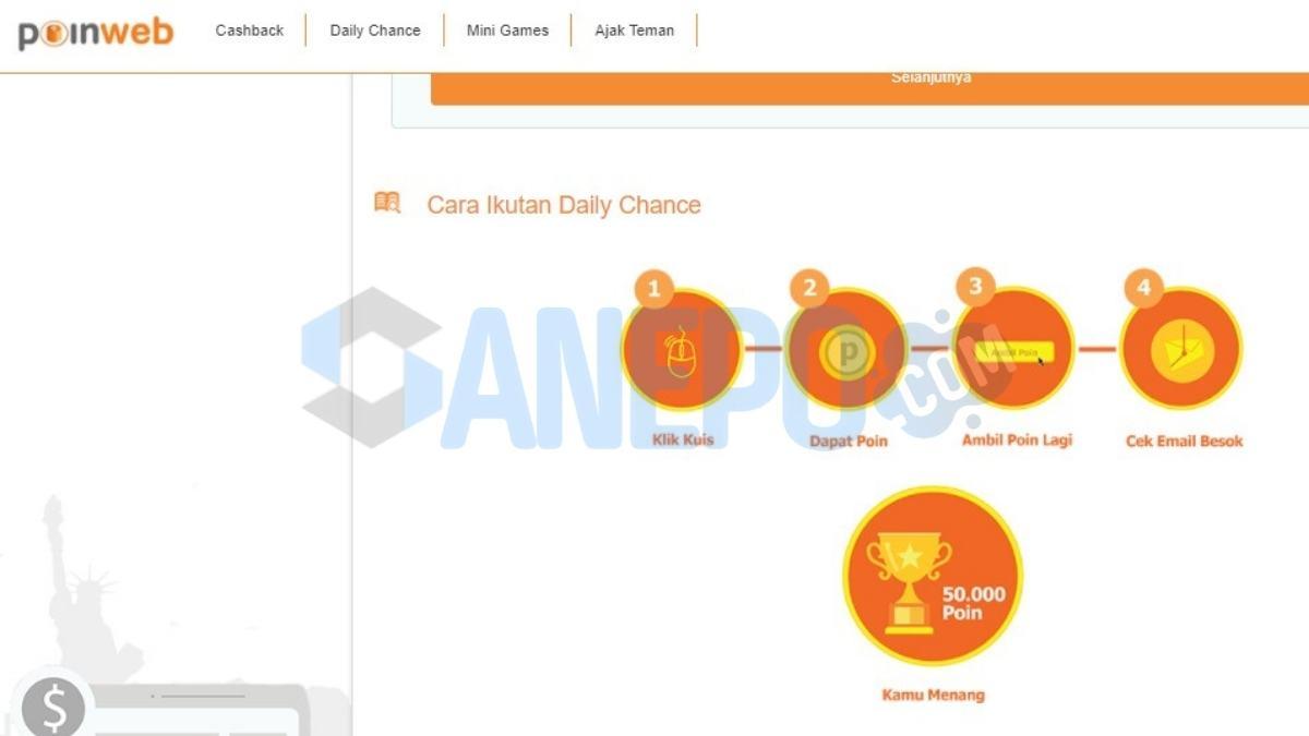 Game Online Penghasil Uang Tanpa Deposit Poin Web