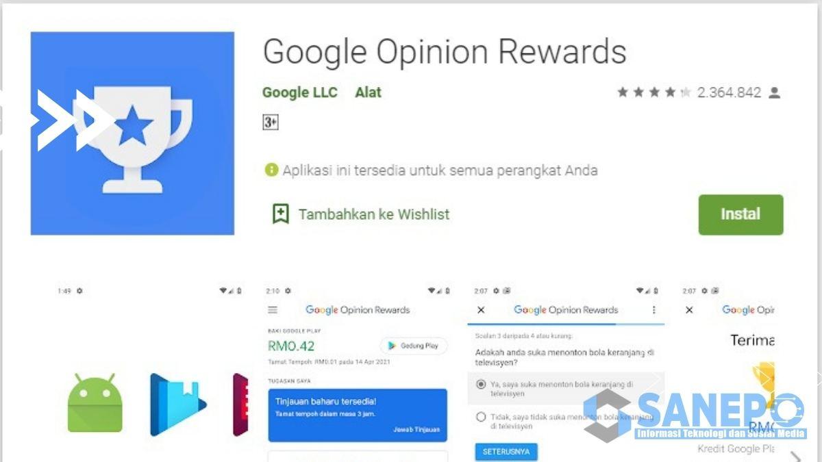 Apa itu Google Opinion Rewards
