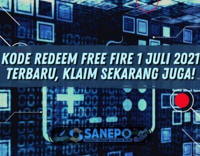Kode Redeem Free Fire 1 Juli 2021 Terbaru, Klaim Sekarang Juga!