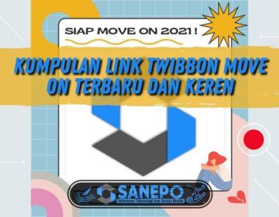 Kumpulan Link Twibbon Move On Terbaru dan Keren