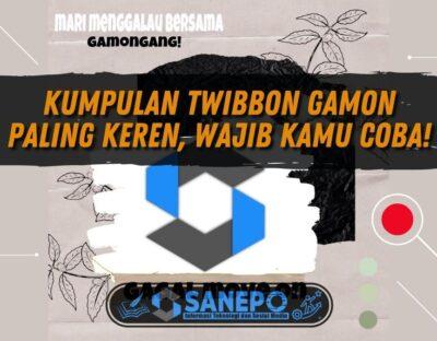 Kumpulan Twibbon Gamon Paling Keren, Wajib Kamu Coba!