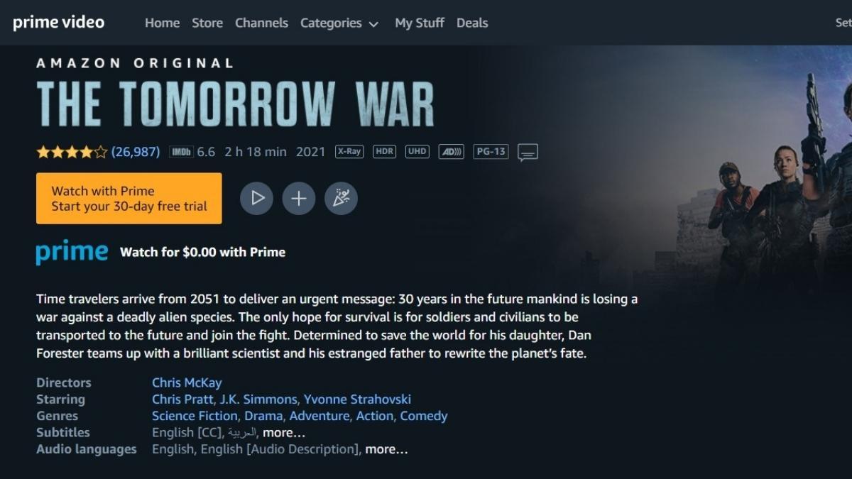 Link Nonton The Tomorrow War Sub Indo (2021)