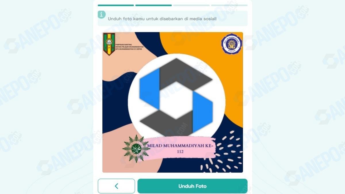 Link Twibbon Milad Muhammadiyah 2021
