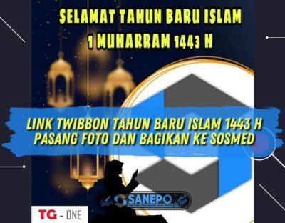 Link Twibbon Tahun Baru Islam 1443 H, Pasang Foto dan Bagikan ke Sosmed