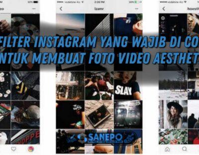 Filter aesthetic instagram