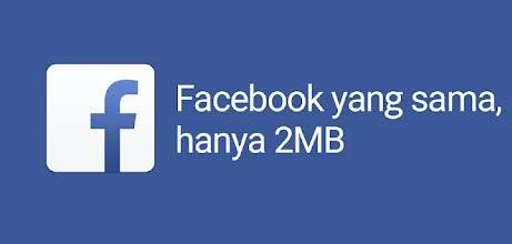 Facebook lite Cara menghilangkan penyimpanan penuh