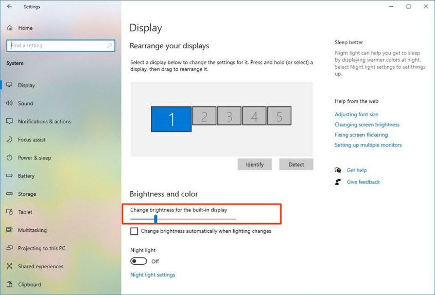 Cara Mengurangi Kecerahan Laptop Windows 10 Dengan Mudah