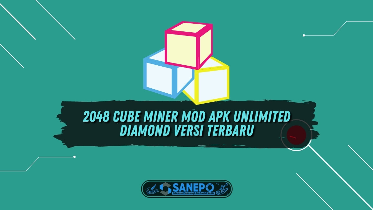2048 Cube Miner Mod Apk Unlimited Diamond Versi Terbaru