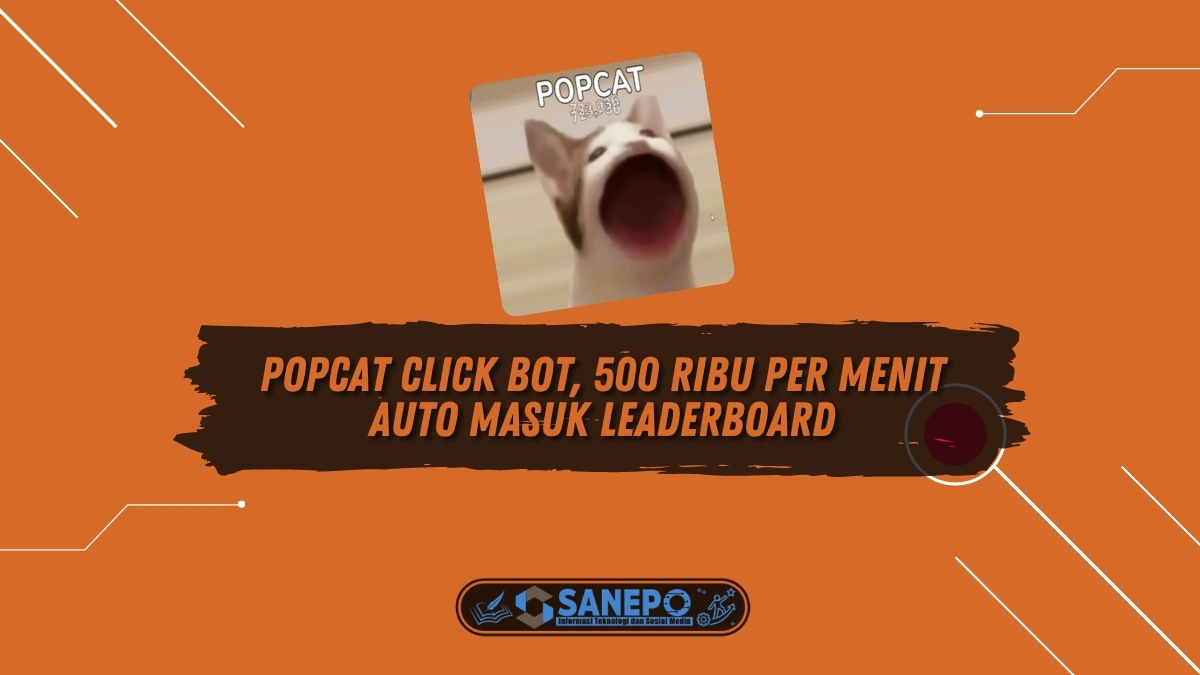 Popcat Click Bot, 500 Ribu Per Menit Auto Masuk Leaderboard