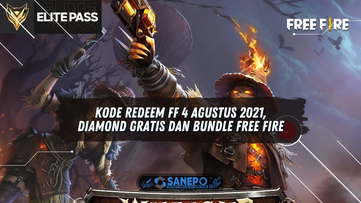 Kode Redeem FF 4 Agustus 2021, Diamond Gratis dan Bundle Free Fire
