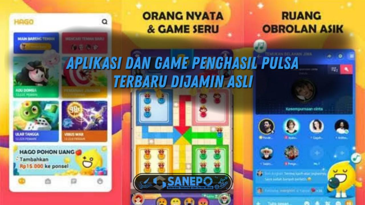 Aplikasi Dan Game Offline Penghasil Pulsa Asli Terbaru 2021