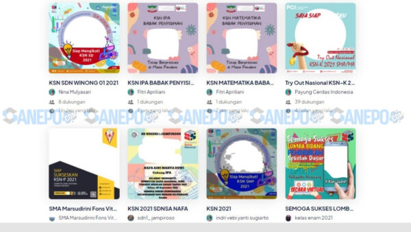 10+ Link Twibbon KSN SD 2021 dan Cara Pasang Paling Mudah