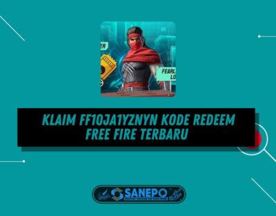 Klaim FF10JA1YZNYN Kode Redeem Free Fire Terbaru Hadiah Loot Box dan Sepatu