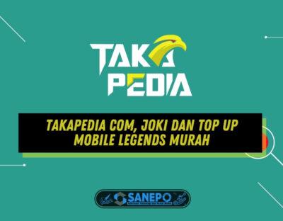 Takapedia Com, Joki dan Top Up Mobile Legends Murah