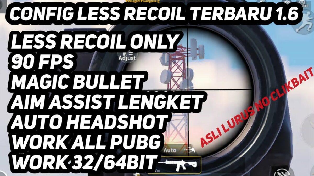 config no recoil pubg 1.6