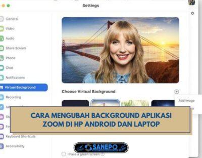 Cara Edit Background Zoom Di Hp Dan Laptop