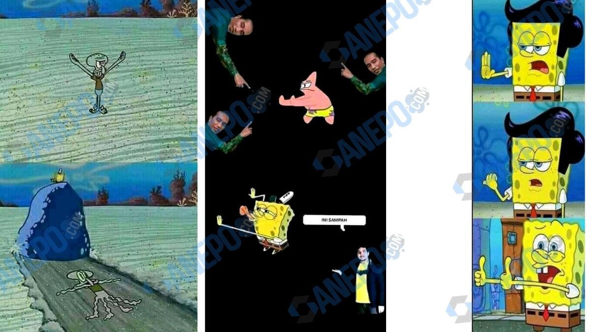 wallpaper spongebob yang lagi viral di tiktok