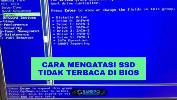 SSD Tidak Terbaca Di BIOS